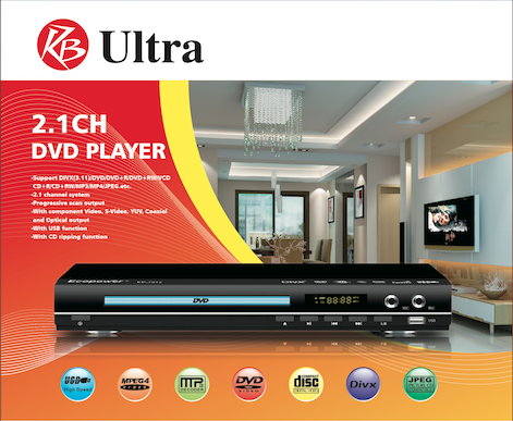 ULTRA DVD Player with
