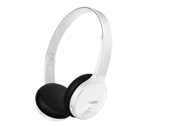 Philips SHB4000WT/10 - Bluetooth-Stereoheadset