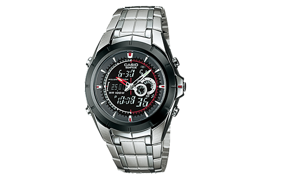 CASIO EDIFICE EFA-119BK-1AV  MEN'S WATCH