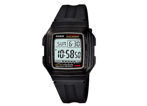 CASIO F-201WA-1A STANDARD DIGITAL WATCH