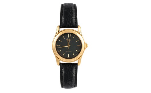 CASIO MTP-1096Q-1A ANALOG LEATHER STRAP WATCH