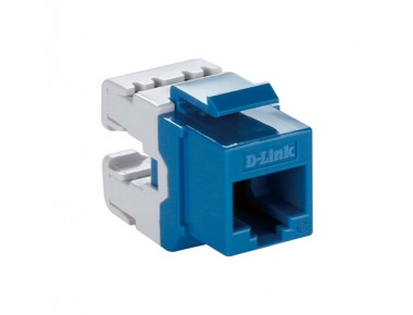 D-LINK Cat6 Keystone Jack UTP-Blue