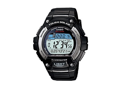 CASIO SOLAR POWERED W-S220-1AV MEN'S WATCH