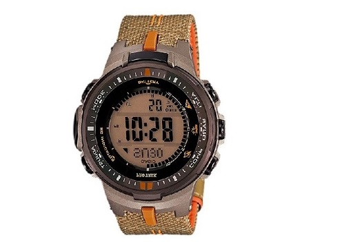CASIO PROTREK PRW-3000B-5 CLOTH BAND MEN WATCH
