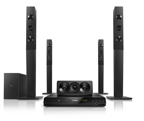 Philips 5.1 DVD Home Theater